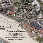 Elope To Coronado™ - Coronado Dunes Location Map | Map Image : Google Maps