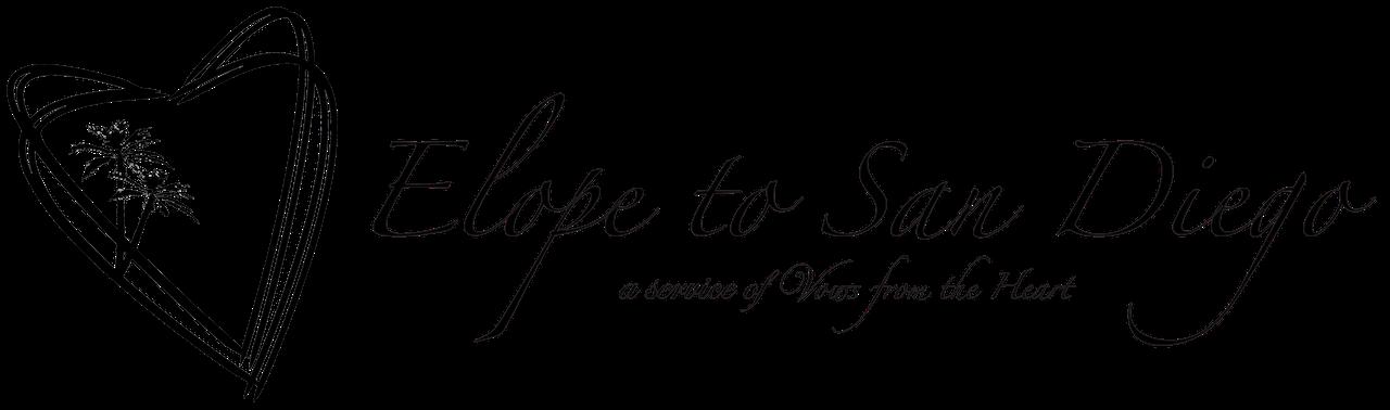 Elope to San Diego logo