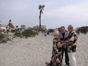 "San Diego Vow Renewal: ""Say I Do Again"" is a Service of Vows From The Heart and Elope to San Diego"