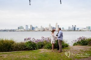 Elope to Coronado™ a service of Elope to San Diego and Elope to Coronado. Coronado Bay View Park Location - ©2017 Vows From The Heart - All Rights Reserved Photo: Rev. Christopher Tuttle